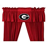 Sports Coverage NCAA Georgia Bulldogs Valance For Sale