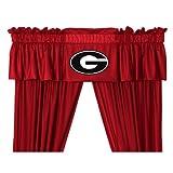 Sports Coverage NCAA Georgia Bulldogs Valance For Sale