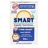 Smart Family Nutrition - Think Smart DHA Drops, Supports Brain...