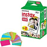Fujifilm Instax Mini Instant Film (Twin Pack, 20 Total Pictures) + 20...