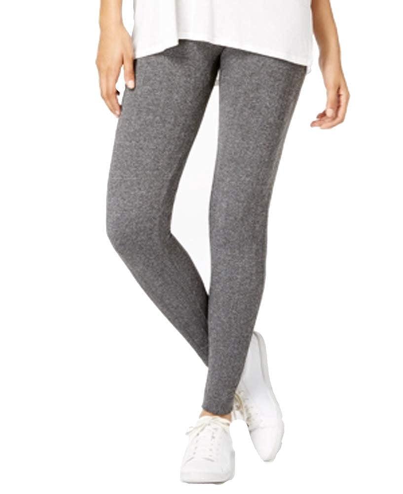 Hippie Rose Juniors Seamless Textured Knit Fleece Leggings