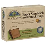If You Care Sandwich Bag 48 Pc