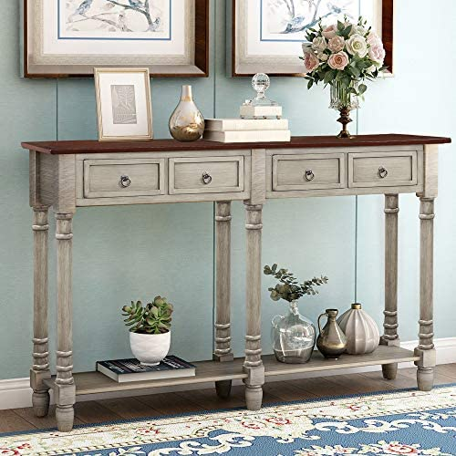 Merax Console Table Sofa Table