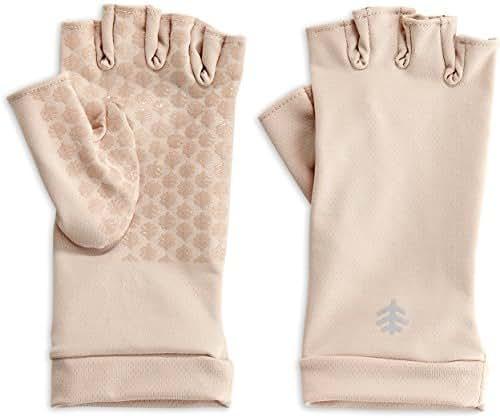 Coolibar UPF 50+ Unisex Fingerless Sun Gloves - Sun Protective
