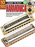 10 Easy Lessons Harmonica, Peter Gelling, 1864691107