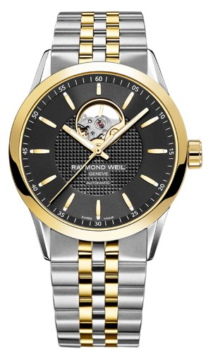 Raymond-Weil-Mens-Freelancer-Swiss-Automatic-and-Stainless-Steel-Casual-Watch-ColorTwo-Tone-Model-2710-STP-20021