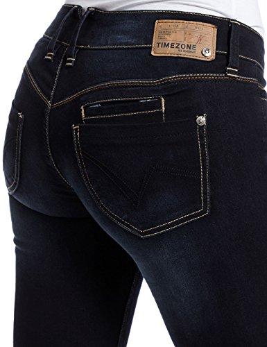 Wash Noble 3787 Bleu Blue Blue Femme Noble 3787 Timezone Kairinatz Slim Jeans Blau Wash New WxnaEBwA1