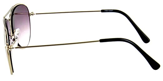 d74ef28dd64 Amazon.com  Aloha Eyewear Tek Spex 9001 Unisex Progressive No-Line Aviator Bifocal  Reader Sunglasses (Chrome +2.50)  Health   Personal Care