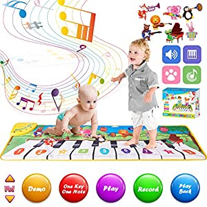 Retruth Musical Piano Mat for Kids & Toddlers, Musical