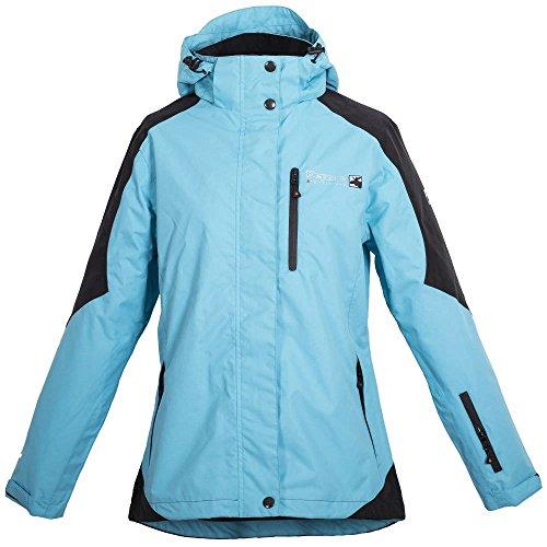 Deproc Rokky Lady Outdoorjacke Übergröße blau/schwarz ja9XM6D