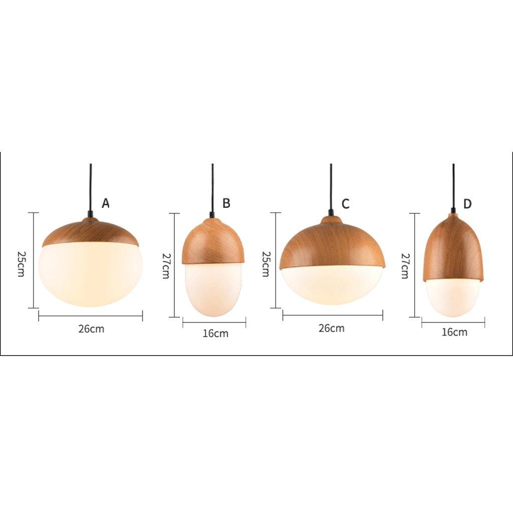 Nordic nut kronleuchter Moderne minimalistische kreative Persönlichkeit Restaurant Beleuchtung Glas Glas Glas bar Kronleuchter (Farbe   C) 377ff0