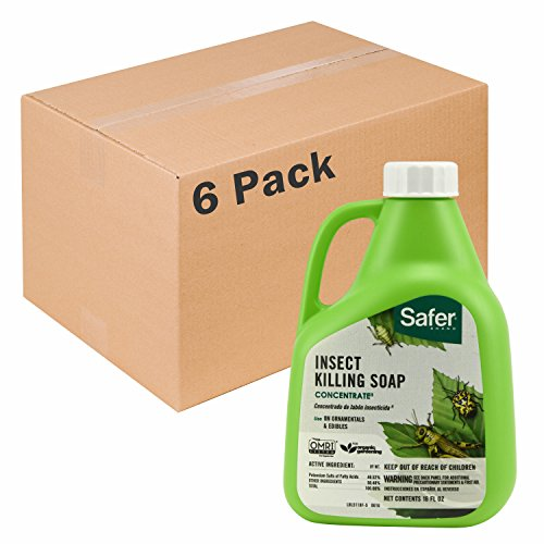 Safer Brand Insect Killing Soap 16oz Concentrate - 6 Pack 5118-6 by Safer Brand