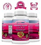 Raspberry Ketones Lean 1200mg - Advanced Anti Antioxidant formula - Apple Cider Vinegar - Acai Berry - Green Tea Extract - African Mango - Kelp - Natural