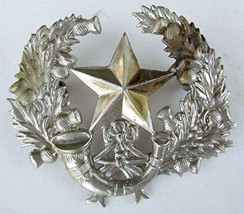 (VINTAGE BRITISH ARMY CAMERONIANS WWII BONNET)