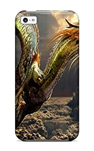 Cute Tpu LeonaMullers Japanese Dragon Case Cover For Iphone 5c