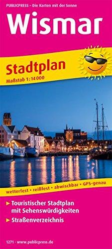 Wismar: Touristischer Stadtplan mit Sehenswürdigkeiten und Straßenverzeichnis. 1:14000 (Stadtplan / SP) Landkarte – Folded Map, 1. Dezember 2017 PUBLICPRESS 3961322716 Mecklenburg-Vorpommern Ostseeküste und -inseln