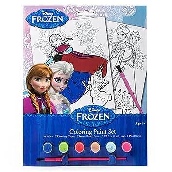 Amazon.com: Disney Frozen Coloring Paint Set: Toys & Games