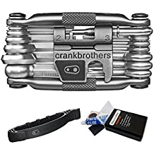 Crank Brothers Multi Bicycle Tool (19-Function) with Crank Brothers Tire Speedier Lever
