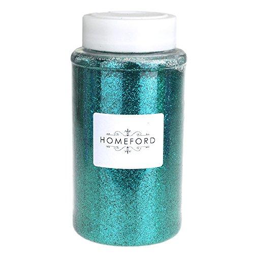 Homeford FNS000001180AQUA Fine Glitter Bottle, 6-1/4
