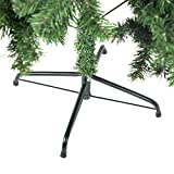 Artificial Christmas Tree with Solid Metal Legs Tips Full Tree
