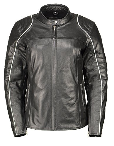 Leather Motorcycle Jackets For Women - 6
