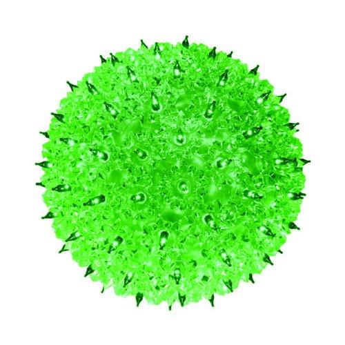 Bethlehem Lighting Indoor/Outdoor Mini StarChristmas Light Sphere 50, Green]()