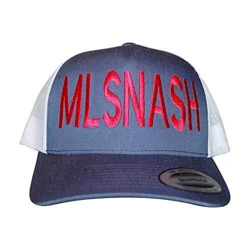 fan products of Bandwagon Nash MLSNASH Curved Bill Trucker Hat- For Nashville Soccer Club
