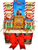 Ghirardelli Gift Basket - Ghirardelli Milk Chocolates and Premium Hot Cocoas