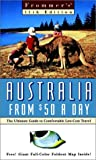 Frommer's Australia from $50 a Day, Natalie Kruger and Marc Llewellyn, 0028630459