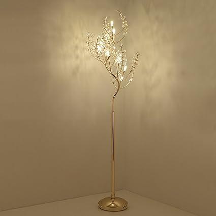 Lámpara de pie moderna, minimalista, de forma de árbol de ...