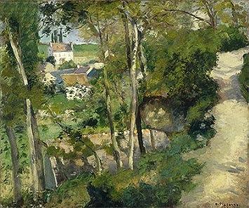 Jacob Camille Pissarro (la Climb, Rue de la aerosol de tinte ...