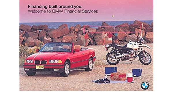 Amazon com: 1996 BMW Financial Services Mailer Brochure
