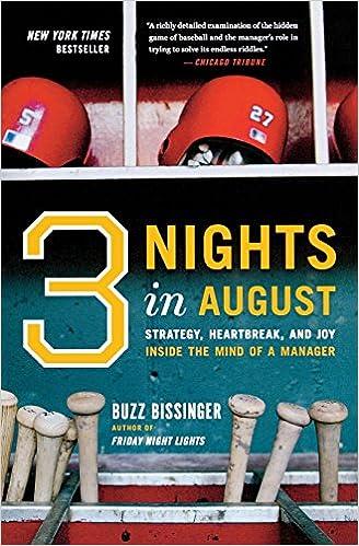 Three Nights in August: Strategy, Heartbreak, and Joy Inside