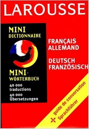 Livres gratuits en ligne Mini dictionnaire français-allemand, allemand-français pdf, epub