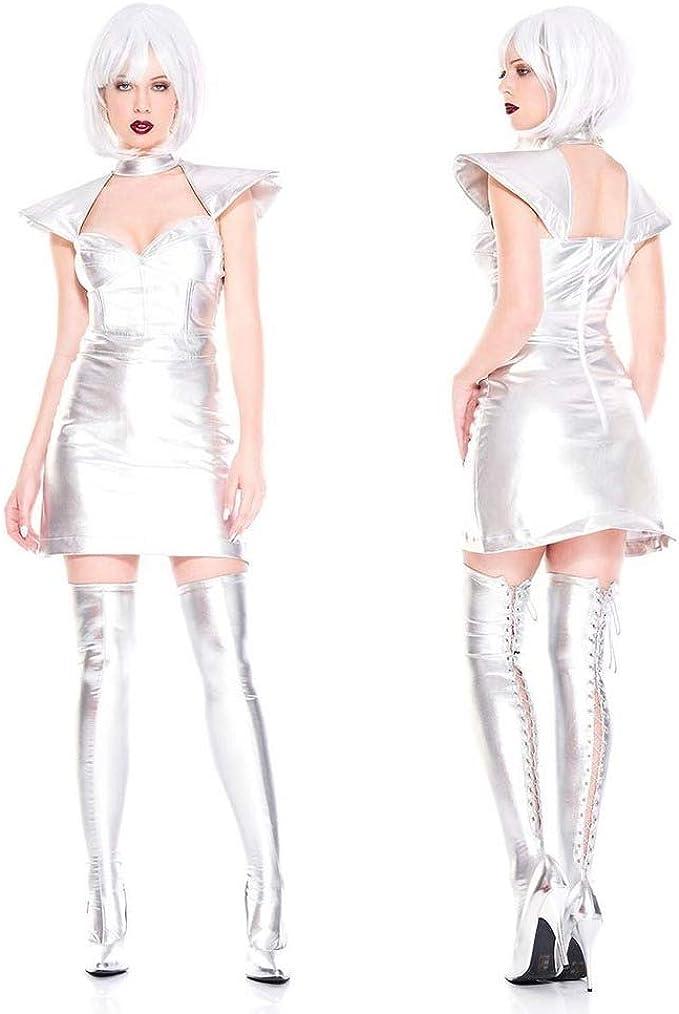Disfraz de guerrera de Plata del Espacio Exterior de Star Wars ...