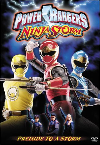 Power Rangers Ninja Storm: Prelude to Reino Unido DVD ...