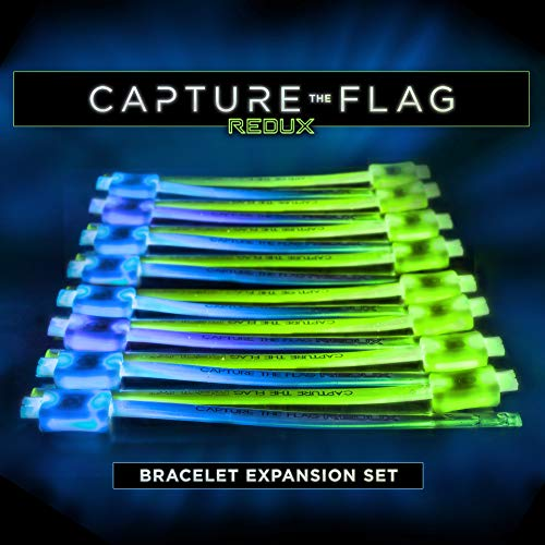 Glow In The Dark Website (Capture the Flag REDUX: Glow-in-The-Dark Bracelet Expansion Set - Allow up to 16 Additional)
