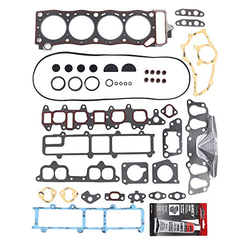 MPLUS 22R 22RE 22RE Head Gasket Set Compatible for 1985-1995 Toyota 4Runner  Pickup Naturally Aspirated & 1986-1988 Toyota 4Runner Turbocharged 2 4L