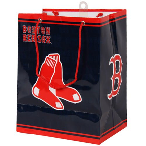 MLB Boston Red Sox Gift Bag, (Boston Red Sox Bag)