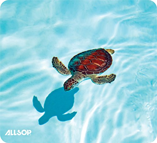 AllsopNature's Smart Mouse Pad 60 % Recycled Content, Turtle (31425)