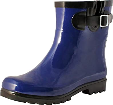 cute cheap buy good latest style of 2019 TWO Nomad Women's Dew Waterproof Rubber Rain Ankle Bootie