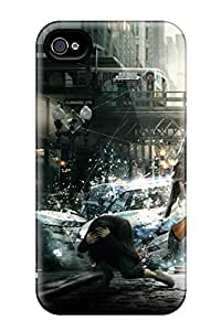 New Arrival Watch Dogs Game For Iphone 4/4s Case Cover