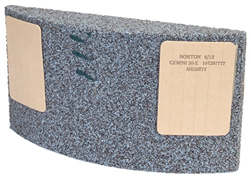 Norton Abrasives 66243447595 - Gemini Grinding Segment, Width: 11-1/4'', Thickness: 3'', Height: 8'', Material: Aluminum Oxide, For Use With: Cortland
