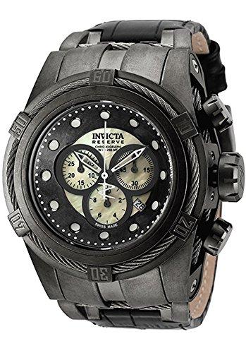 amazon com invicta watch bolt reserve zeus distressed finished
