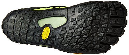 Vibram Five Fingers Spyridon Mr Elite, Scarpe da Trail Running Uomo, Multicolore (Black/Yellow), 46 EU