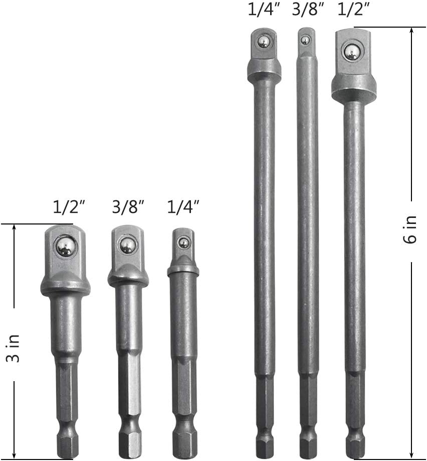 Double Head Converter Screw Pack 1//4 Zoll auf 3//8 Zoll Gewindeadapter Schrauben