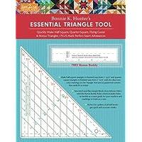 fast2cut Bonnie K. Hunter's Essential Triangle Tool: Quickly Make Half-Square, Quarter-Square, Flying Geese & Bonus…