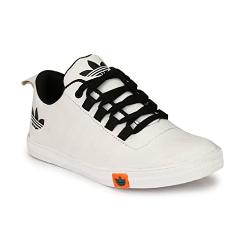 Buy NYN Men's White Smart Casual Shoes
