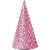 El cumpleaños de los conos 12pcs Glitter Sombreros