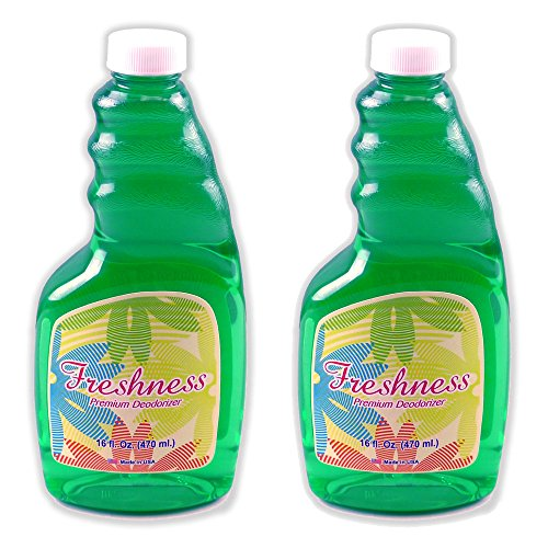 Freshness Premium Deodorizer Freshener Concentrated Formula by GoodVac for use with Rainbow, Sirena, Hyla, Delphin (2)